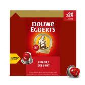 Douwe Egberts Lungo dessert coffee caps
