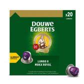 Douwe Egberts Lungo mocha royal coffee caps