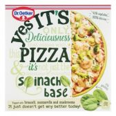 Dr. Oetker Yes it is pizza with spinach crust (only available within Europe)