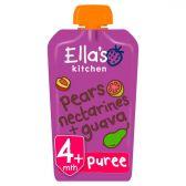 Ella's Kitchen Peer en nectarines (vanaf 4 maanden)