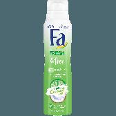Fa Fresh & free deospray coconut (alleen beschikbaar binnen Europa)