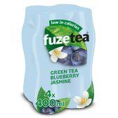 Fuze Tea Groene thee bosbessen jasmine
