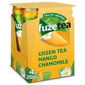 Fuze Tea Groene thee niet bruisend mango kamille