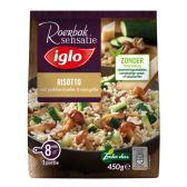 Iglo Risotto met paddenstoelen en courgette (alleen beschikbaar binnen Europa)