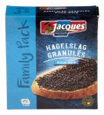 Jacques Dark chocolate sprinkles family pack