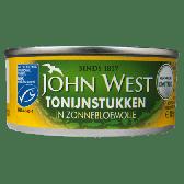 John West Tonijnstukken in zonnebloemolie MSC