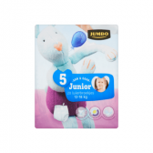 Jumbo 5 On and go junior 12-18 kg nappy pants