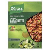 Knorr Lasagnette Napoletana wereldgerechten