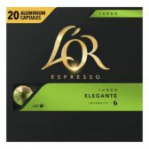 L'Or Espresso lungo elegante koffiecups voordeelpak