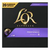 L'Or Espresso lungo profondo koffiecups voordeelpak