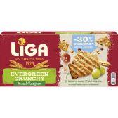 Liga Evergreen crunchy muesli and currants biscuits