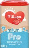Milupa Milumil zuigelingenmelk PRE melkpoeder (vanaf 0 maanden)