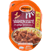 Mora Pork satay in spicy peanut sauce XL (only available within the EU)