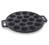 Poffertjespan Gietijzer geschikt voor alle warmtebronnen