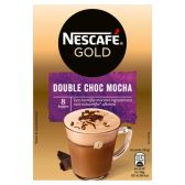 Nescafe Gold double chocolate mocha instant coffee