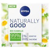 Nivea Naturally good sensitive night cream