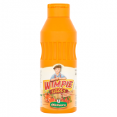 Oliehoorn Wimpie sauce with sweet spicy cherry peppers