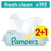 Pampers Babydoekjes fresh clean 3-pack