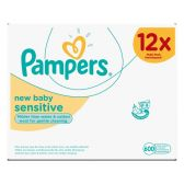 Pampers New baby sensitive babydoekjes 12-pack