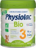 Physiolac Organic follow-on milk 3 baby formula (from 12 months)