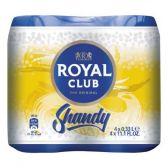 Royal Club Shandy 4-pack