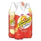 Schweppes Agrum zero groot 4-pack
