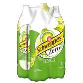 Schweppes Limonade zero lemon groot 4-pack