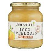 Servero 100% appelmoes met stukjes klein