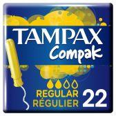 Tampax Compak tampons regular
