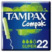 Tampax Compak tampons super fresh