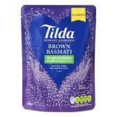 Tilda Brown steamed basmati rice