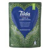 Tilda Lime coriander steamed basmati rice