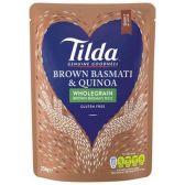 Tilda Wholegrain steamed basmati & quinoa