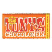 Tony's Chocolonely zeezout, melk & karamel