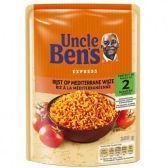 Uncle Ben's Express rice the Mediterranean way