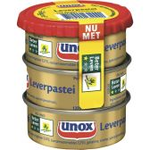 Unox Leverpastei 3-pack