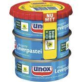 Unox Leverpastei mager 3-pack