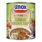 Unox Soep in blik stevige tomaten groentesoep