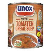 Unox Soep in blik stevige tomatensoep creme