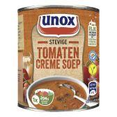 Unox Soep in blik stevige tomatensoep creme klein