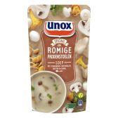 Unox Soep in zak bospaddenstoelensoep