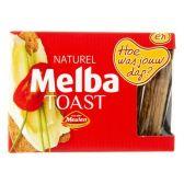Van der Meulen Melba toast naturel venster