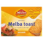 Van der Meulen Original melba toast sesam