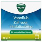 Vicks Vaporubzalf voor inhalatiedamp klein