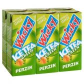 Wicky Ice tea green perzik 6-pack