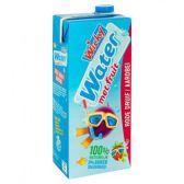 Wicky Water met fruit rode druif aardbei