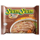 Yum Yum Asian cuisine instant noedels met rundvleessmaak